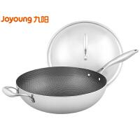 九阳(Joyoung)炒锅32cm不粘锅家用不锈钢炒菜锅电磁炉锅燃气锅具 CGG3208