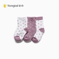 秋冬新款婴幼儿袜0-1岁男女宝宝套脚袜波点单双装