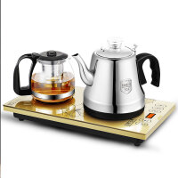 王牌名典 智能全自动底部上水壶电热烧水壶家用保温电热水壶抽水式功夫茶具电磁茶炉茶壶