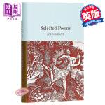 【中商原版】Collectors Library系列:济慈诗歌选集 英文原版 Selected Poems / Joh