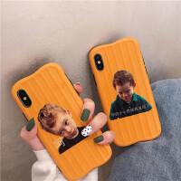 尬笑男孩8plus/7p/6s苹果x手机壳XS Max/XR/iPhoneX女iphone11Pro硅胶套个性创意日韩国
