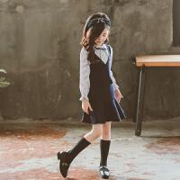 大女童连衣裙春秋装2018新款韩版童装长袖秋季公主裙儿童裙子