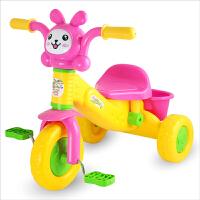 宝宝学步手推车儿童三轮车脚踏车玩具 男孩女孩自行车1-3岁玩具