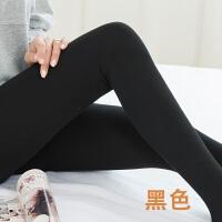 竖条纹秋冬韩版加绒打底裤女微压显瘦外穿紧身哑光灰色高腰连裤袜