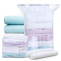 真空压缩袋棉被子衣服收纳袋特大号中号整理袋9件套含抽气泵