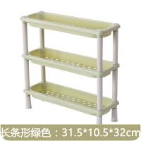 三角塑料置物架 多功能置物架厨房浴室收纳架迷你塑料层架桌面角落三层整理置物架