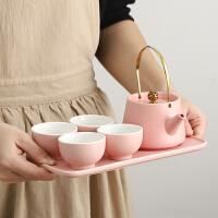 茶具套�b家用客�d小套功夫泡茶茶�夭璞�旅行高�n日式陶瓷�W�t�Y盒