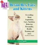 【中商海外直订】Devon Rex Cats and Kittens Everything about Acquisi