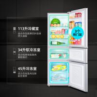 康佳BCD-192三�T冰箱家用小型�p�_�T租房�能小�冰箱三�_�T冰箱