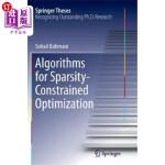 【中商海外直订】Algorithms for Sparsity-Constrained Optimization