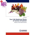 【中商海外直订】Two Folk Medicinal Plants of Jammu & Kashmir