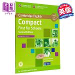 【中商原版】剑桥FCE校园版考试冲刺备考练习册 英文原版 Compact First for Schools Work