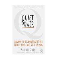 Quiet Power: Growing Up Susan Cain 安静的力量:在一个无法停止说话的世界里成长为一个内向的人不是错