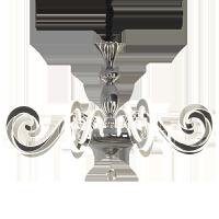 灯臂发光吊灯欧式吊灯创意大气客厅灯灯臂发光简约简欧LED餐厅主卧室吊灯灯具