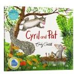 【中商原版】埃米莉・格雷维特:西里尔和帕特 英文原版 Emily Gravett: Cyril and Pat 3-6