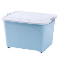 收�{箱塑料特大����w家用�b衣服的箱子加厚�π�ξ镎�理盒三件套
