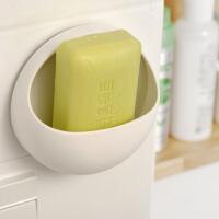 创意吸盘皂盒吸壁式肥皂架塑料肥皂收纳盒卫生间情侣沥水皂架