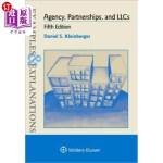 【中商海外直订】Examples & Explanations for Agency, Partnerships, a