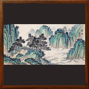 《远见》石振昌 R5151   精品手绘山水画