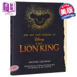 【中商原版】狮子王电影设定集 英文原版 The Making of the Lion King 迪士尼真人动画电影艺术