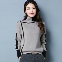 2019高领毛衣女冬季女装韩版显瘦针织打底衫百搭保暖上衣