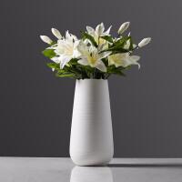 陶瓷花瓶摆件 干花仿真花摆件 客厅餐厅电视柜装饰品摆件 如图