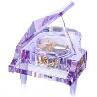 [当当自营]乐嘉 18音 经典水晶钢琴音乐盒 紫色 LJD4C25Z-KN