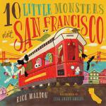 【预订】10 Little Monsters Visit San Francisco