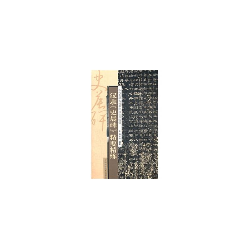 【TH】技法与临创:汉隶《史晨碑》精要精练 施志伟著 上海科学技术文献出版社 9787543954359亲,全新正版图书,欢迎购买哦!