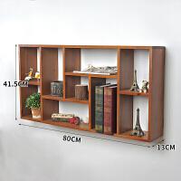 木制格子化妆品实木桌面收纳盒办公桌面收纳柜可悬挂装饰品