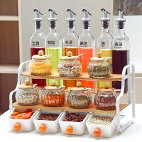 厨房用品多功能调料置物架收纳调味品佐料盒创意酱油瓶调料架子