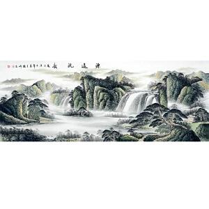 中国美协会员,中国书协会员,龙云书画院院长侯桂峰(源远流长)29