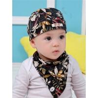 婴儿帽子秋冬0-3岁男女童宝宝头巾海盗帽春秋薄款儿童6一12个月潮