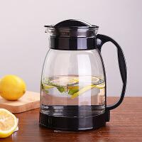 玻璃冷水壶耐高温凉水壶家用花茶壶大容量凉白开水壶果汁壶