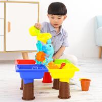玩沙挖沙漏大号铲子桶戏水洗澡儿童沙滩玩具车套装