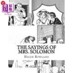 【中商海外直订】The Sayings of Mrs. Solomon