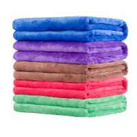 洗车毛巾汽车纤维不掉毛大号吸水擦车巾洗车布用品60 160