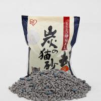 正品爱丽思IRIS 除臭可燃高凝固炭制膨润土猫砂SNS-70