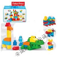 【精选优品】美高费雪婴儿大颗粒积木可啃咬塑料拼插1-3岁一宝宝儿童玩具 美高150粒超值套装