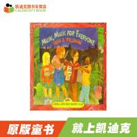 【99选5】#凯迪克Music,Music for Everyone 橡树街乐团【平装】赠送音频