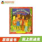 #凯迪克Music,Music for Everyone 橡树街乐团【平装】赠送音频