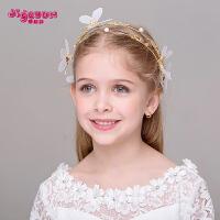 新款儿童发箍韩式头饰发饰发卡 蝴蝶头箍发带头饰品