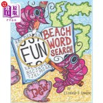 【中商海外直订】Beach Wordsearch No. 1: Tropical, Aquatic and Nauti
