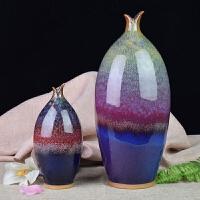 花瓶摆件非景德镇陶瓷器窑变瓷特色装饰工艺品河南神��