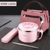不锈钢饭盒学生女便当盒小带盖儿童创意可爱便携简约日式饭缸