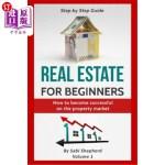 【中商海外直订】Real Estate for beginners: How to become successful