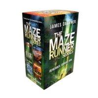 【现货】包邮 英文原版 移动迷宫4本套装 The Maze Runner Series (Maze Runner) 礼品书 同名电影原著