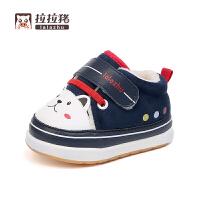 婴儿冬季棉鞋男女宝宝秋冬保暖0--3岁