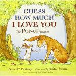 【旧书二手书9成新】猜猜我有多爱你进口原版 精装 童趣绘本学前教育(4-6岁) Sam McBratney 97814