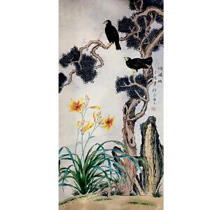 山东菏泽人,中国牡丹书画研究院院长吴绍正(鸣晓枝)34